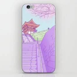 Everyday places in Japan iPhone Skin