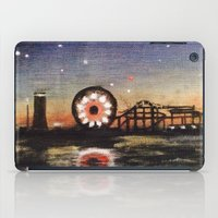 boardwalk empire iPad Cases featuring Boardwalk by Leon T. Arrieta
