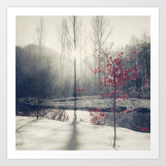 winter's rHapsody Art Print