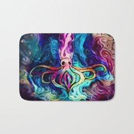 Celestial Squid Reimagined Bath Mat
