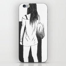 bag girl iPhone & iPod Skin