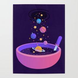 Macrocosmic Cereal Poster