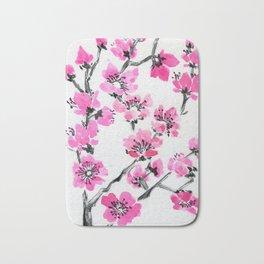 Cherry Simple Bath Mat