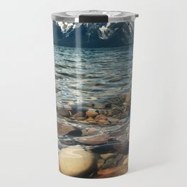 Crystal Clear Jackson Lake in Grand Teton Travel Mug