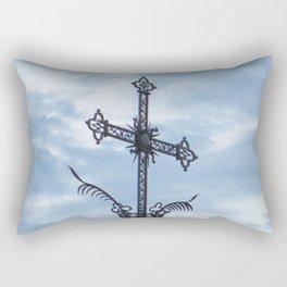 The Cross of the Plague Rectangular Pillow