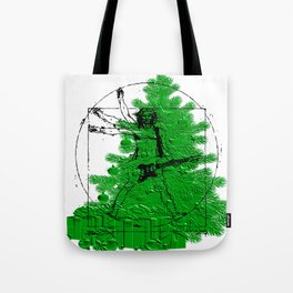 da vinci's Tree Tote Bag