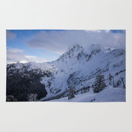 Mt Baker Wilderness Rug