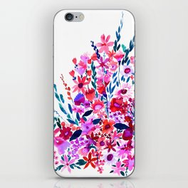 Scarlett Floral iPhone Skin