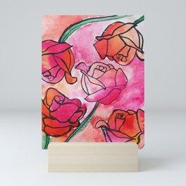 Rose Waterclor Mini Art Print
