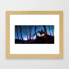 Unsung Hero - The Twilight Bark Framed Art Print