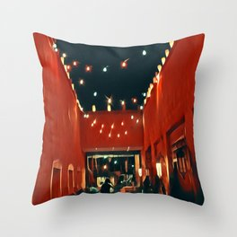 Santa Fe Nights Throw Pillow