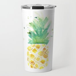 Nanny Pinapple Watercolor Travel Mug