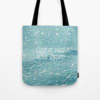 custom Tote Bags featuring Custom Dreams by Alice Gosling