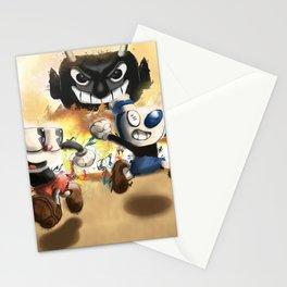 Cuphead & Mugman Stationery Cards