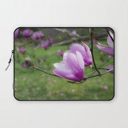 Tulip Flower on Tree Laptop Sleeve