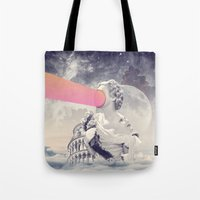 sisters Tote Bags featuring sisters by Peg Essert