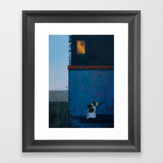 What if there's a sea Framed Art Print