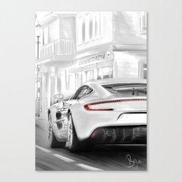 Aston Martins deluxe Canvas Print