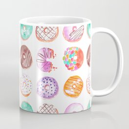 I Eat Donuts, Man-Orangey Coffee Mug