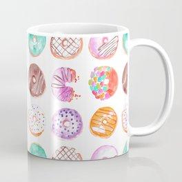 I Eat Donuts, Man-Orangey Coffee Mug