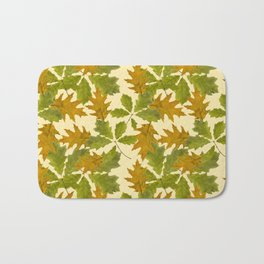 Leaves Camouflage Pattern Bath Mat