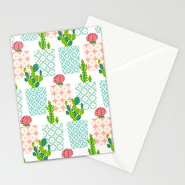 Succulent Cacti Pot Stationery Cards
