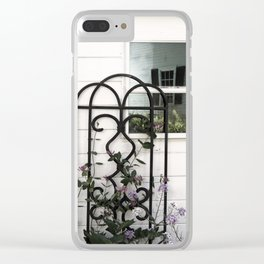 Face in the Window Clear iPhone Case