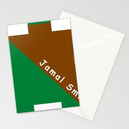Ninja Green and Brown Stationery Cards