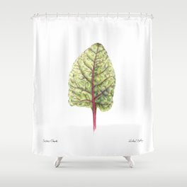 Swiss Chard Shower Curtain