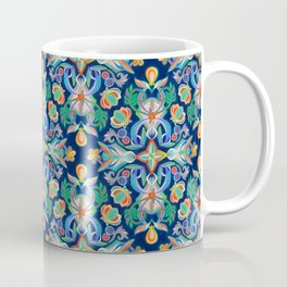 Boho Navy and Brights Coffee Mug
