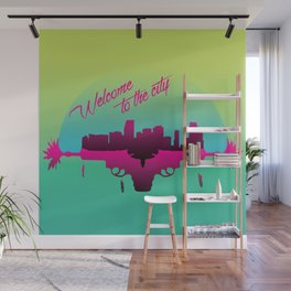 Welcome to the City Wall Mural
