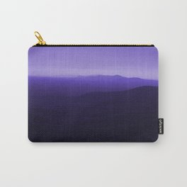 Violet Scenic View of Blue Ridge Mountains Georgia  Carry-All Pouch
