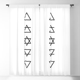 As Above So Below Blackout Curtain