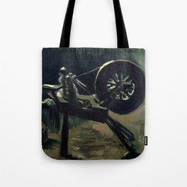 1885-Vincent van Gogh-Bobbin winder-34x44,3 Tote Bag