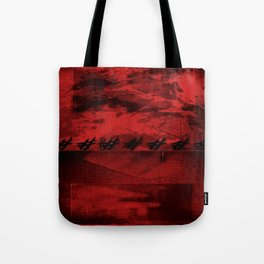 SACRA SINDONE [RED] Tote Bag