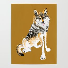 Mexican Wolf #1 Poster