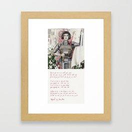Retrograde Framed Art Print