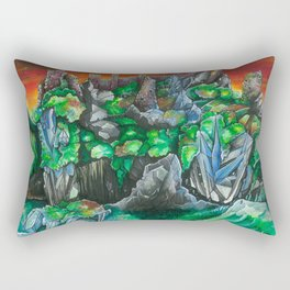 Out of the Earth... Rectangular Pillow