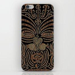 Tiki iPhone Skin