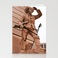 battlefield Stationery Cards featuring Battlefield by Photaugraffiti