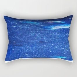 The Angels and the Satellite. Rectangular Pillow