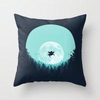 fairytale Throw Pillows featuring Fairytale by filiskun