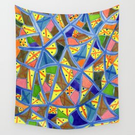 Celestrial Archaic Pattern Wall Tapestry