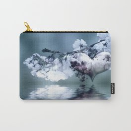 Frühlingsherz blue Carry-All Pouch