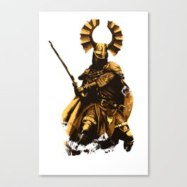 Teutonic Medieval Knight Canvas Print