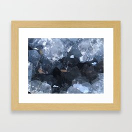 Celestite Framed Art Print