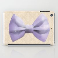 bow iPad Cases featuring Bow by Naomi Shingler