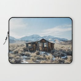 Lone Cabin Scene Laptop Sleeve