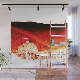 Red Mountain Wall Mural