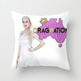 Dragnation Season 3 - NSW- Krystal Kleer Throw Pillow